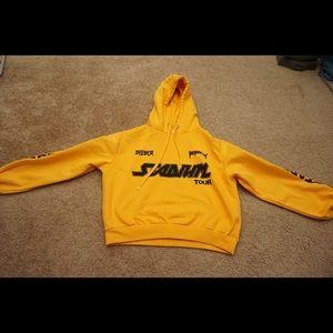 Justin Bieber Stadium Tour Cropped Hoodie